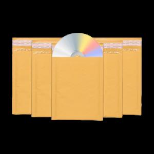 CD Bubble Envelopes